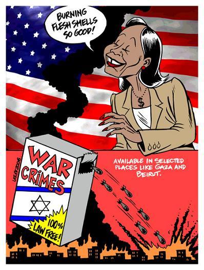 Condaleeza on the war in Gaza
