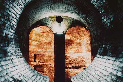 Fleet Sewer, London. Its become a classic place for urban explorers who have taken some marvelous shots such as this.